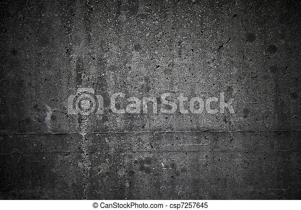 muur, beton, achtergrond - csp7257645