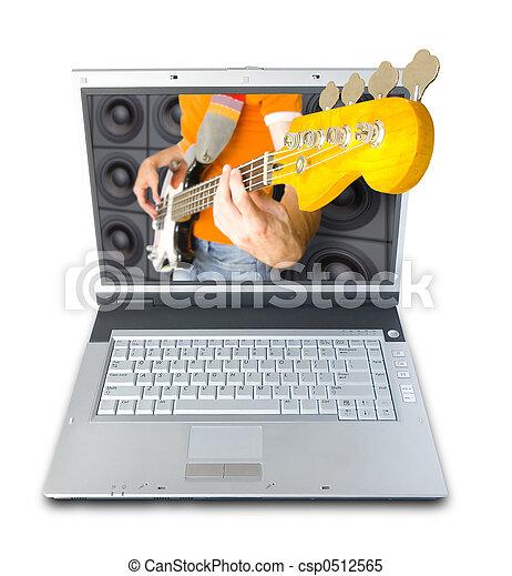 muziek, digitale  - csp0512565