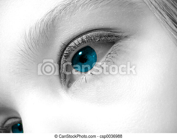 oog, artistiek - csp0036988