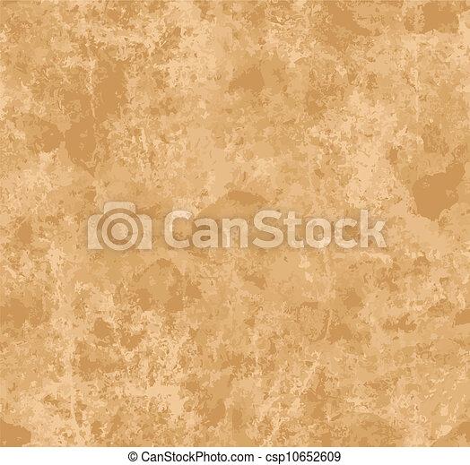 papier, oud, seamless, textuur - csp10652609