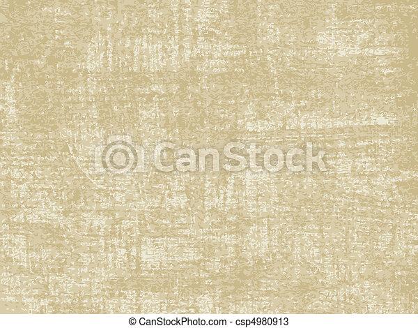 papier, oud, textuur - csp4980913