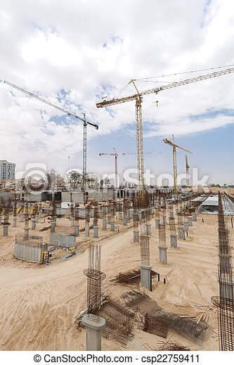 plaats., bouwsector - csp22759411