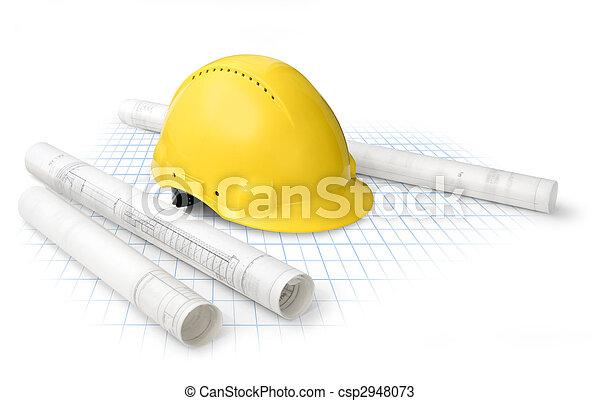 plannen, bouwsector - csp2948073