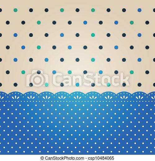 polka punt, achtergrond, textured - csp10484065