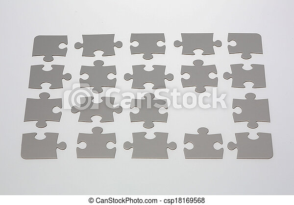 raadsel, jigsaw, vermiste fragment - csp18169568