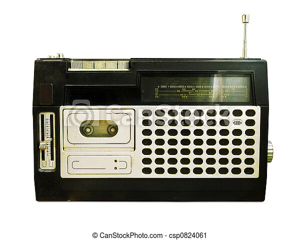 radio, retro, recorder), (tape - csp0824061