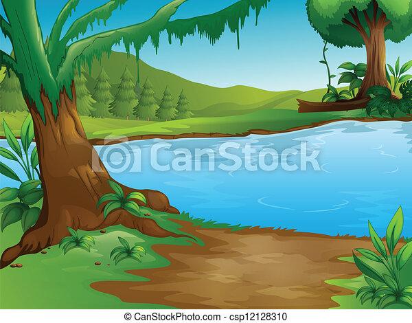 rivier - csp12128310