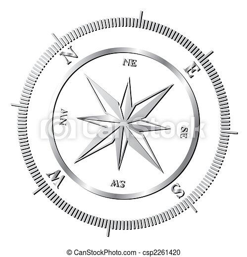 roos, kompas - csp2261420