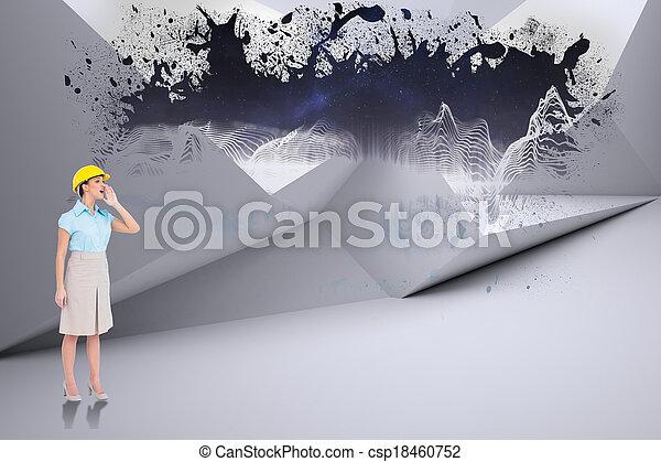 samengestelde afbeelding, archi, aantrekkelijk - csp18460752