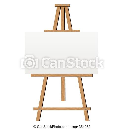 schildersezel, illustratie - csp4354982
