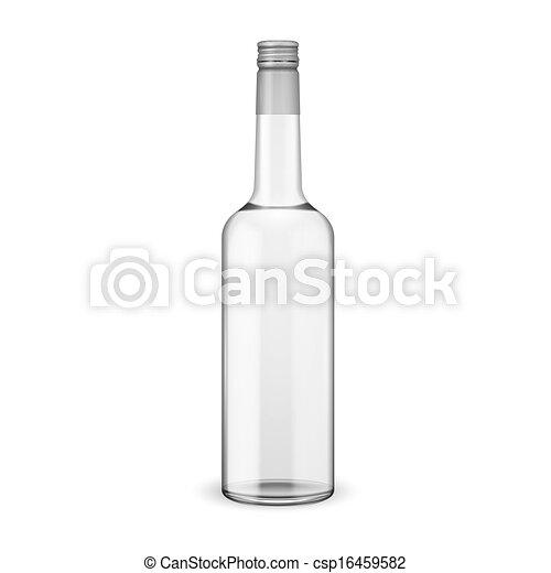 schroef, wodka, cap., fles, glas - csp16459582