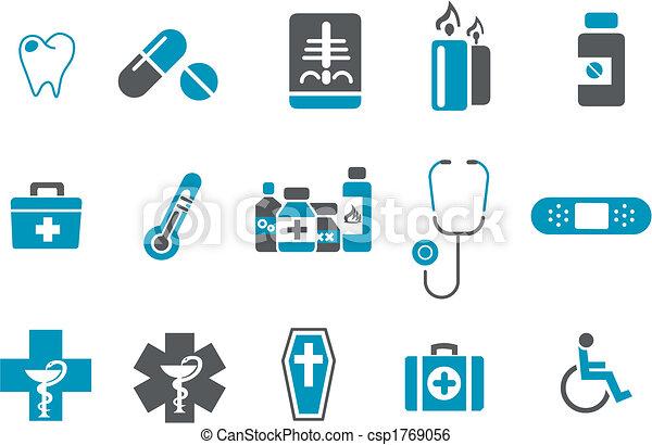 set, pictogram, gezondheid - csp1769056