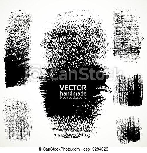 slagen, textured, borstel, figured - csp13284023