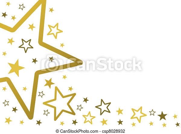 sterretjes, achtergrond - csp8028932