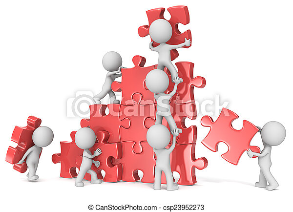 teamwork. - csp23952273