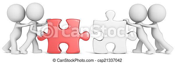 teamwork. - csp21337042