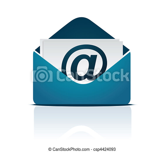 vector, email, /, meldingsbord - csp4424093