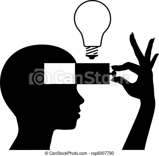 verstand, idee, leren, nieuw, opleiding, open - csp6007790