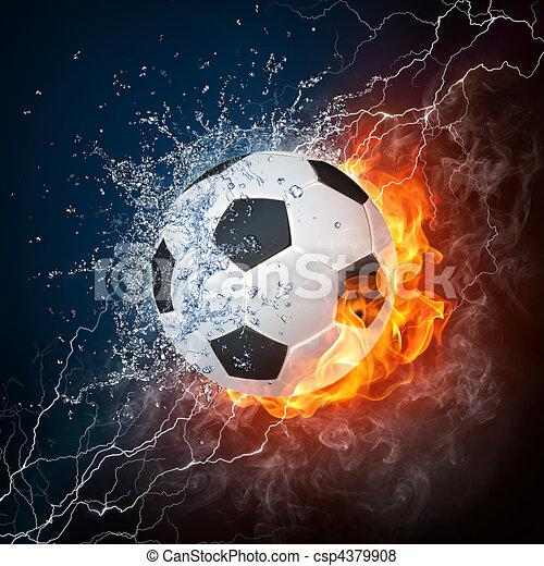 voetbal - csp4379908