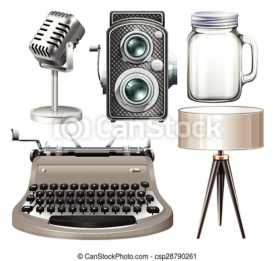 voorwerpen, zilver - csp28790261