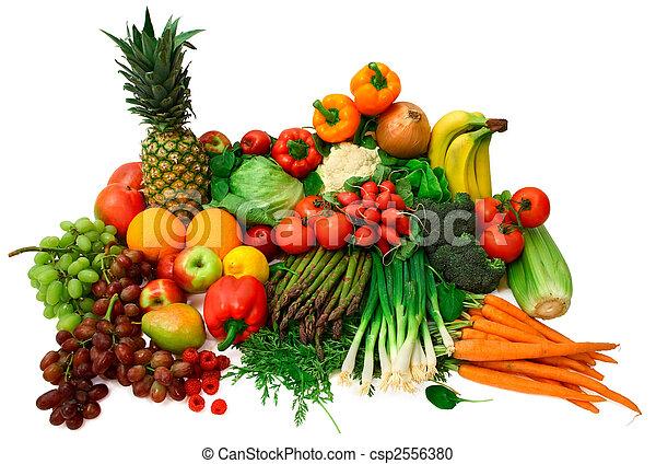 vruchten, verse grostes - csp2556380