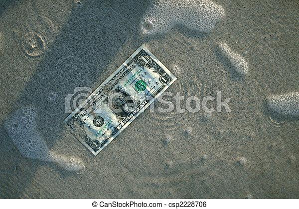 water, dollar - csp2228706