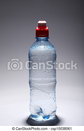 water, fris, koude, fles, plastic - csp10038061