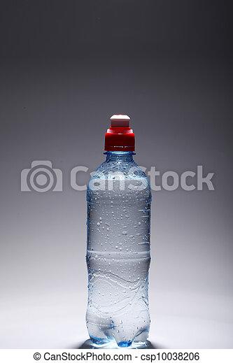 water, fris, koude, fles, plastic - csp10038206