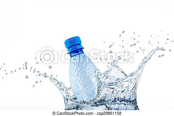 water, plonsen, fles - csp29861158