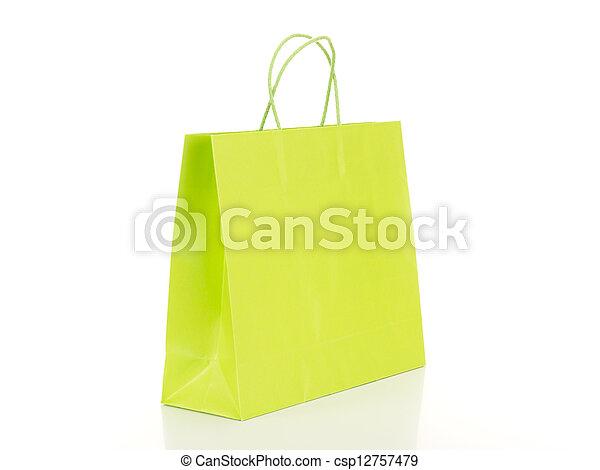 zak, shoppen  - csp12757479