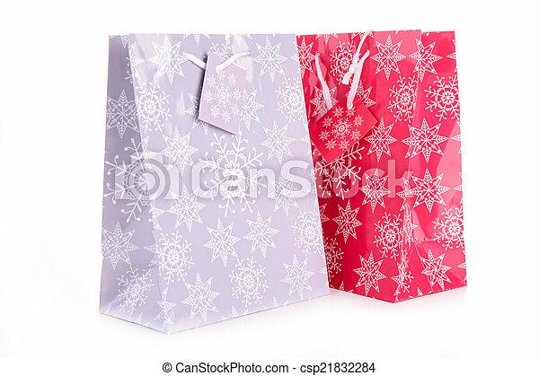 zak, shoppen  - csp21832284