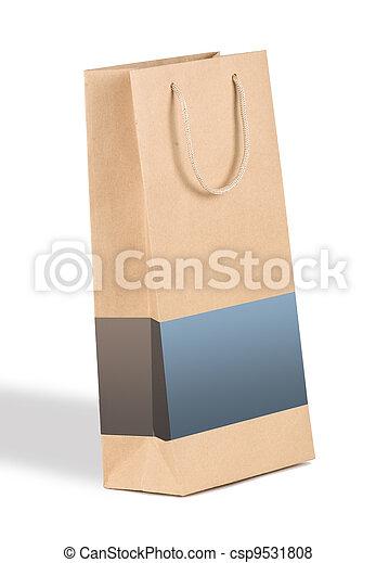 zak, shoppen  - csp9531808