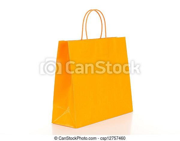 zak, shoppen  - csp12757460
