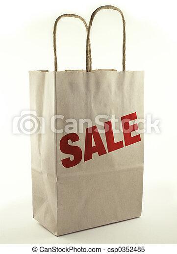 zak, shoppen  - csp0352485