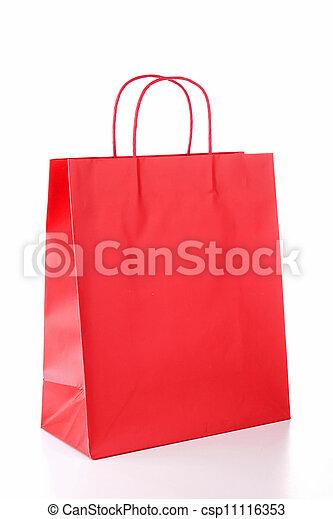 zak, shoppen  - csp11116353