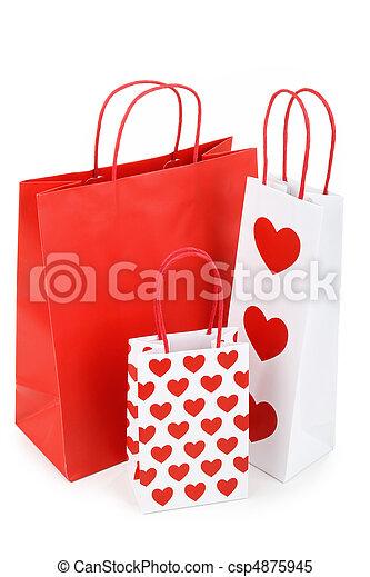 zak, shoppen  - csp4875945