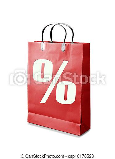 zak, shoppen  - csp10178523