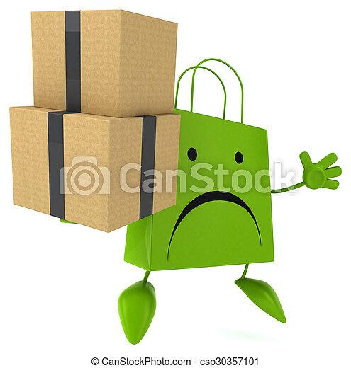 zak, shoppen  - csp30357101