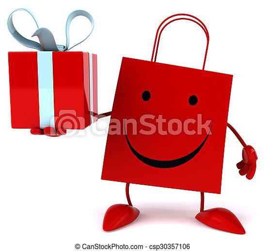 zak, shoppen  - csp30357106
