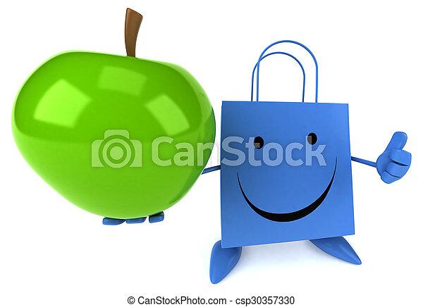 zak, shoppen  - csp30357330