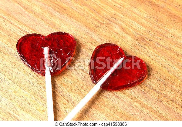 zoet, liefde - csp41538386