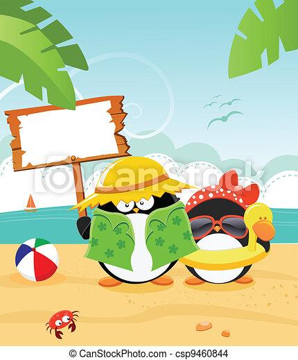 zomer, boodschap - csp9460844